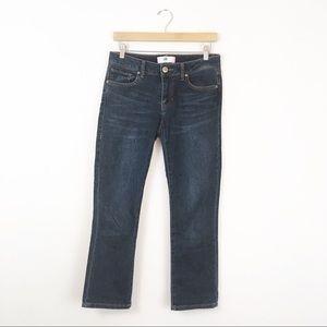 Cabi Jeans New Crop Style # 5086 Dark Wash Size 2